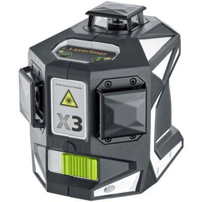 Laserliner X3-Laser Pro Láser 3D 3 círculos 360º verdes 036.800L