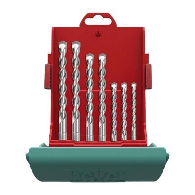Estuche brocas SDS-Plus Heller Bionic Pro 7 piezas