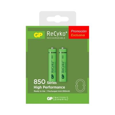 Pila recargable AAA GP Batteries ReCyko 850mAh precargada