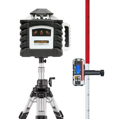 Laserliner Quadrum M350 S Láser rotación robusto 053.00.09A set