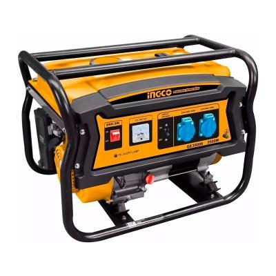 Ingco 0046 Generador eléctrico gasolina 3'5Kw 7HP 4 tiempos
