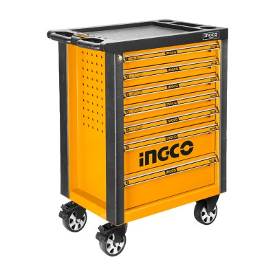 Ingco 0308 Carro taller de herramientas 162 pzs