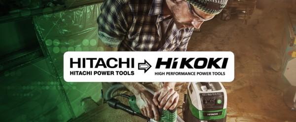 Hitachi powertools ahora es Hikoki