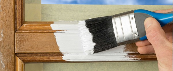 Cómo reparar y pintar ventanas de madera